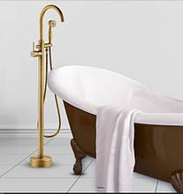 Напольная стойка в ванную комнату со смесителем краном и лейкой