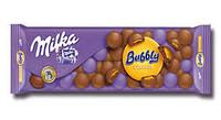 Молочный шоколад Milka Bubbly&caramel 250 гр
