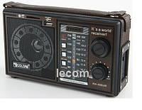 Переносной радиоприемник GOLON RX 306, радио на аккумуляторе