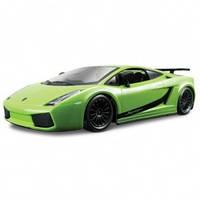 Автомодель - LAMBORGHINI GALLARDO SUPERLEGGERA (2007) (ассорти зеленый, оранжевый металлик, 1:24) от Bburago - под заказ