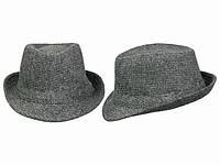 Шляпа мужская демисезонная серая