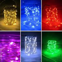Гирлянда светодиодная для декора 100 ламп 10 м