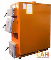 Котел длительного горения на угле и дровах САН Эко 10-У  (4 мм) 10 кВт