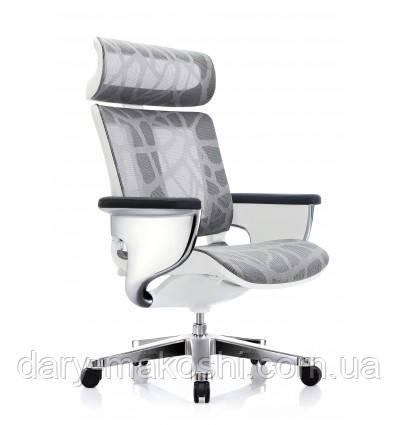 Кресло-реклайнер NUVEM SILVER MESH для офиса и дома