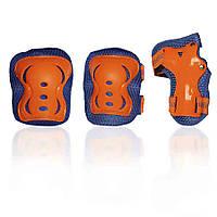 Защита для роликов детская G-FORCE BOY оранжевая M