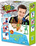 Набор для детского творчества с 3D-маркерами IDo3D Неон (155248)