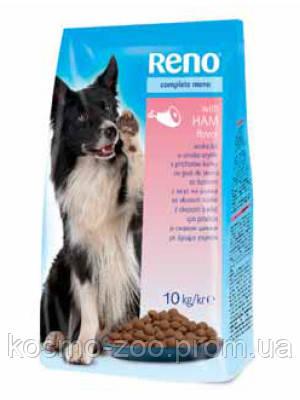 Сухой корм для собак Рено (Reno, Венгрия), со вкусом ветчины, 10 кг