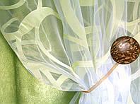 Тюль  (занавес, гардина) рисунок на органзе