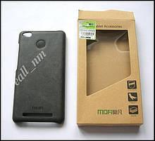 Серый чехол-накладка, бампер для Xiaomi Redmi 3s, Xiaomi Redmi 3 Pro MOFI