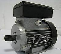 Однофазный электродвигатель АИ1Е 71 В2 У2 (1,1 кВт 3000 об/мин) М