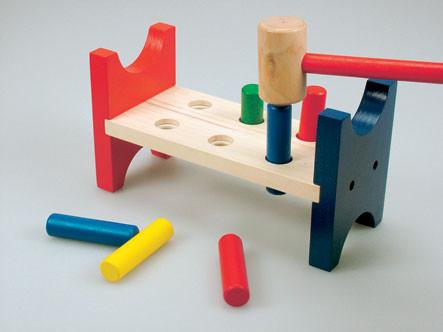 Деревянная игрушка Молоточек Bino (82134)