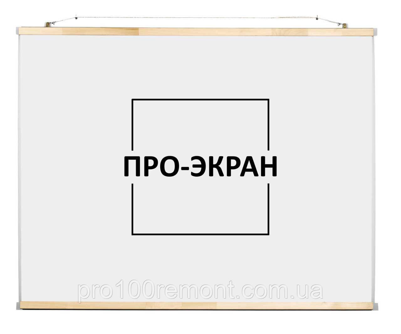 """Экран для проектора 130 на 100 см, 65"""""""