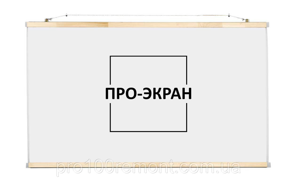 "Екран для проектора 120 на 75 см, 56"""