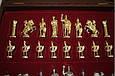 Шахматы в деревянном футляре Греко-Римские Manopoulos S11RED красный, фото 3