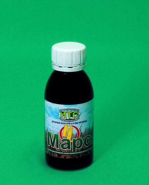Биостимулятор роста Марс-EL, 100 мл — пленкообразующий, для семян и растений, убережет от заморозков и засухи