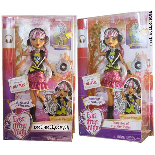 Кукла Ever After High Melody Piper Matte Мелоди Пайпер Базовая переиздание