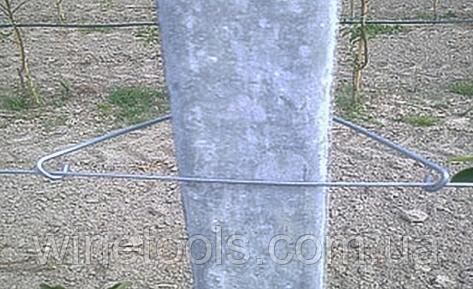 Оцинкованный фиксатор бетонфикс