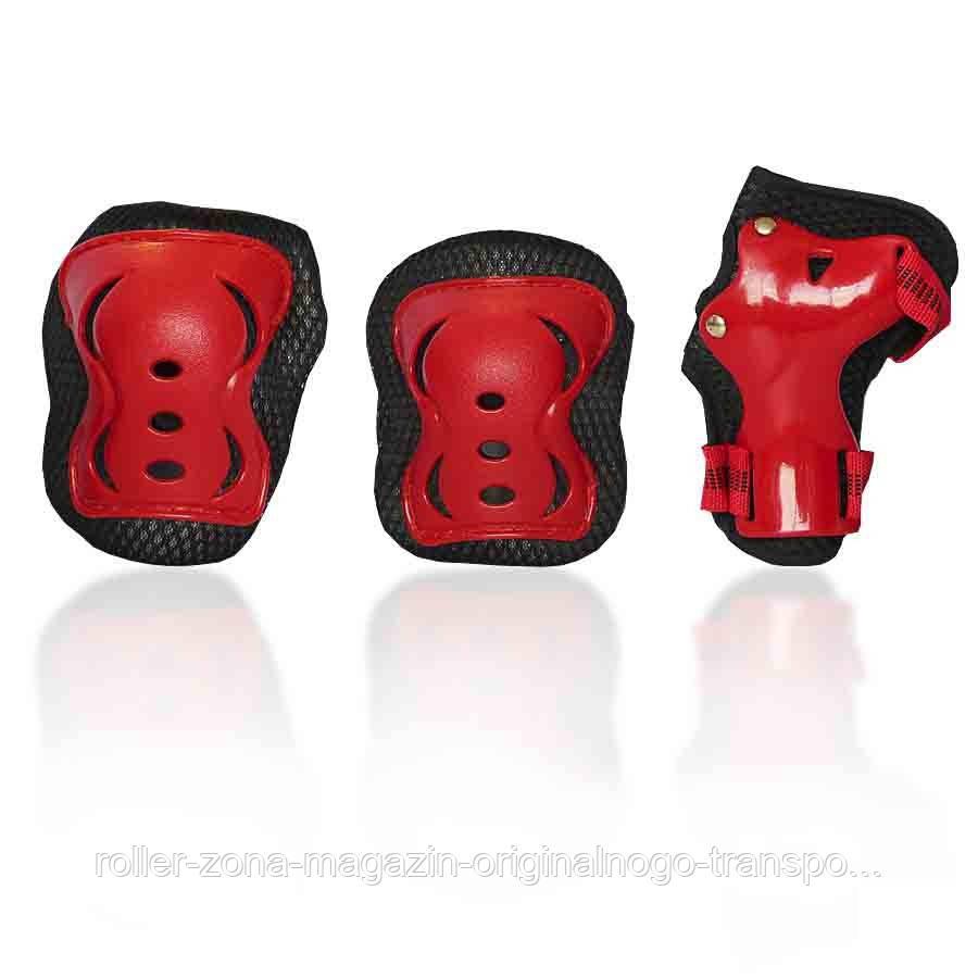 Защита для роликов детская G-FORCE GIRL красная
