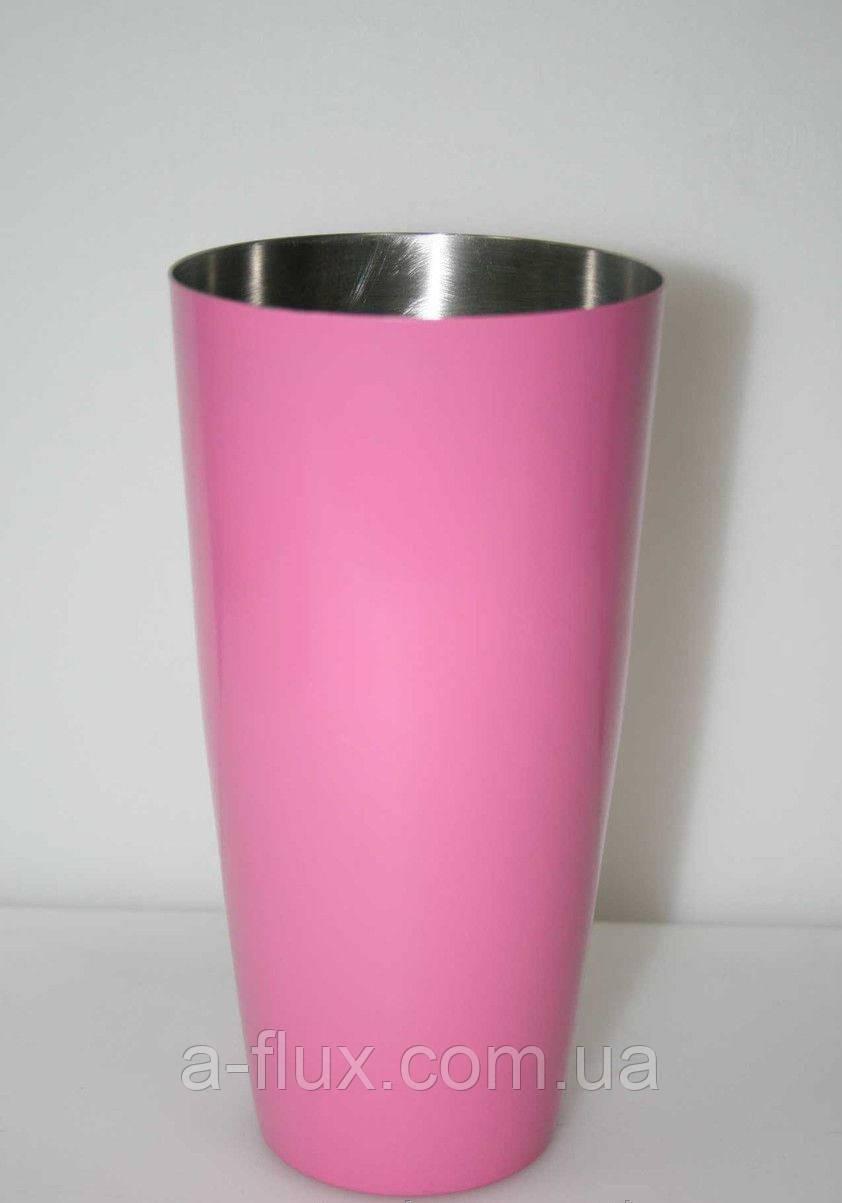 Шейкер Бостон розовый 0,8 л