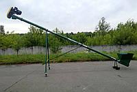 Зернопогрузчик Премиум ТГ115/3/3/0,5 бункер съемный, колеса, длина 6,5м, диам.115мм, 2,2кВт