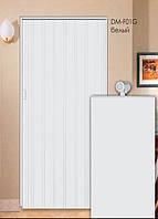 Дверь складная (ширма-гармошка) 86 x 203 (см)  Глухая  Белый