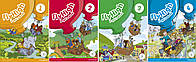 Четырехуровневый курс английского языка для детей 6-9 лет Fly High (Student's Book + Workbook) Level 1-4