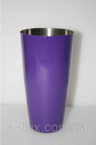Шейкер Бостон фиолетовый 0,8 л