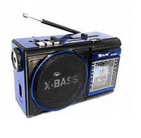Радиоприемник с Led фонариком Golon RX-9009, колонка со встроенным аккумулятором