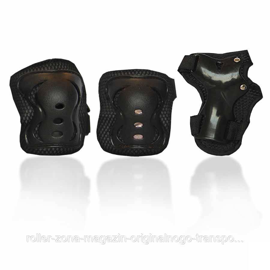 Защита для роликов детская G-FORCE GIRL черная