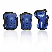 Защита для роликов детская G-FORCE GIRL синяя L