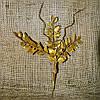 Ветка листья и усики с блестками в ассортименте 831103, фото 4