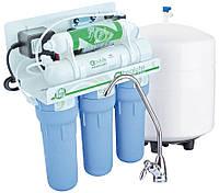 Фильтр обратного осмоса НАША ВОДА Absolute 6-50P  с помпой - помпа для повышения давления ( MO550PNV )