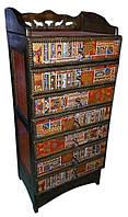 Комод деревянный с тибетским орнаментом