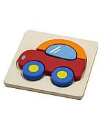 """Мини-пазл Viga Toys """"Машинка"""" (50172)"""