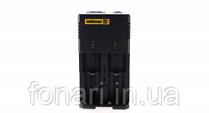 Nitecore Intellicharger i2 V2 - Зарядное устройство  для Li-Ion/Ni-Mh (Оригинал)