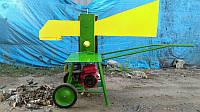 Измельчитель веток и колун ИВиК - 60 c бензиновым двигателем 7 л.с. диаметр до 80 мм Торнадо