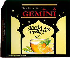 Черный чай Gemini Tea Collection 1001 Night 100 пак.