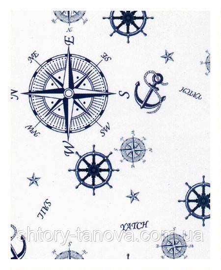 Ткань для штор в морском стиле