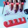 Красивый маникюр и педикюр с помощью разделителей для пальцев рук и ног!