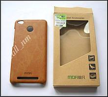 Коричневый чехол-накладка, MOFI бампер для Xiaomi Redmi 3s, Xiaomi Redmi 3 Pro