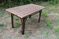 Стол садовый 150 см. шоколад