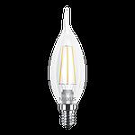LED лампа MAXUS Filament C37 FM-T 4W 3000K 220V E14 (1-LED-539-01), фото 2