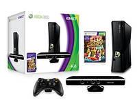 Игровая приставка Xbox 360 Slim 4Gb,Kinect, Игра Kinect Adventures прошитый LT+3.0