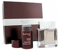Calvin Klein Euphoria men (edt100ml+deo stick 75g) набор