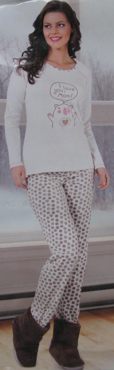 3ef05de97521 ЖЕНСКАЯ ПИЖАМА. ТРИКОТАЖ.: продажа, цена в Хмельницком. пижамы ...