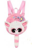 Yoohoo Лисица Фенек рюкзак розовый 18 см Aurora (90773B)