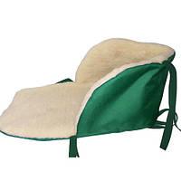 Чехол утеплитель на санки №2 (зеленый)