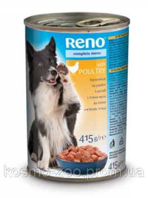 Консервы для собак Рено (Reno, Венгрия) Птица, 415 гр