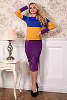 Женское трикотажное платье Альфа Макси Джерси Modus  44-48 размеры