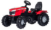 Детский педальный трактор Rolly Toys Farmtrac MF 8650 красный